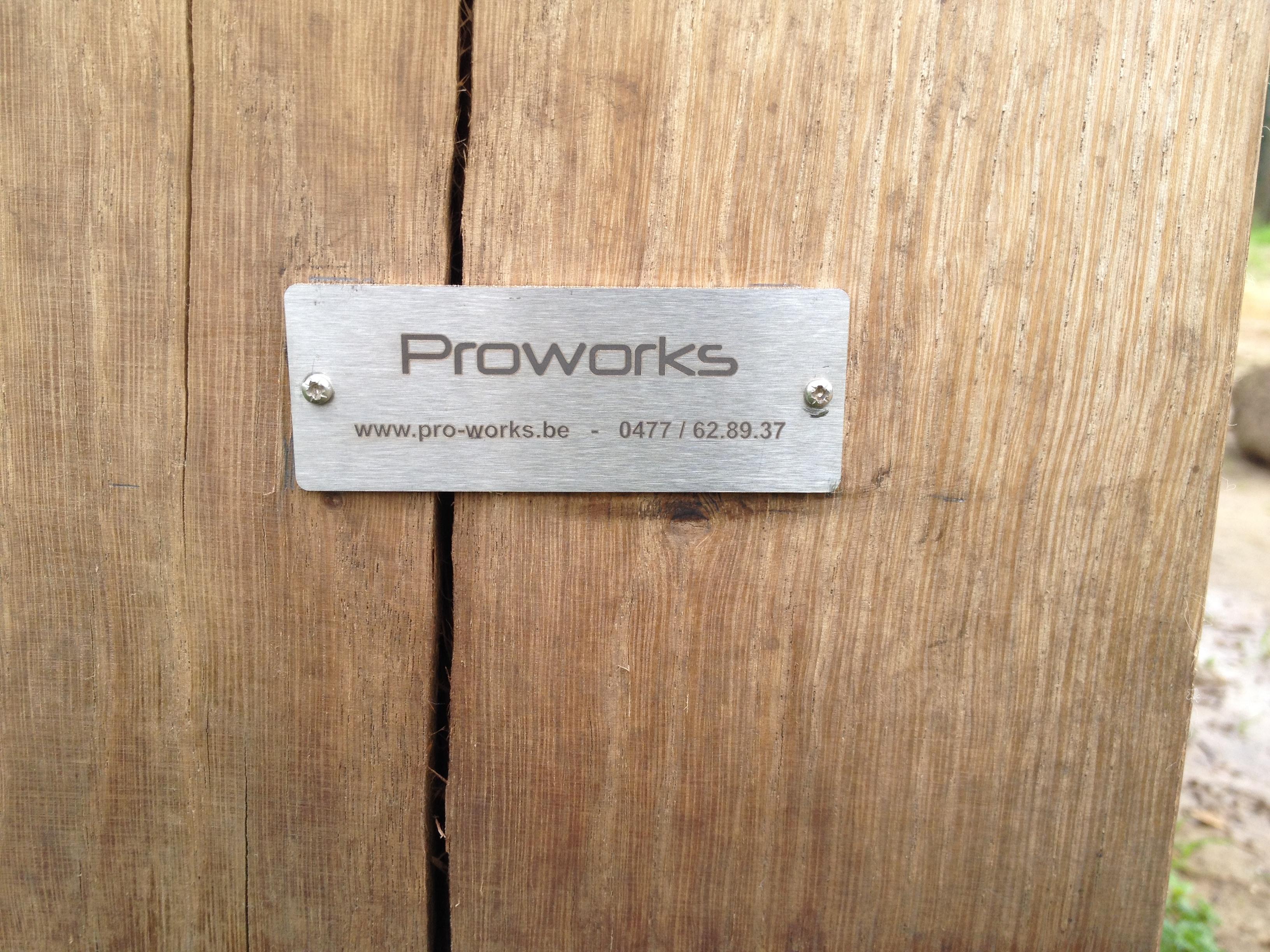 Eikenhouten bijgebouw by proworks